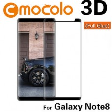 Защитное стекло Mocolo 3D Full Glue для Samsung Galaxy Note 8 Black