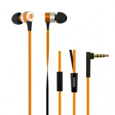 Наушники гарнитура вакуумные iPipoo iP-H300i Orange