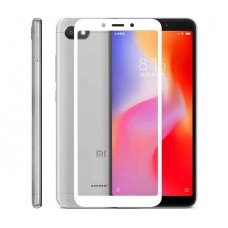 Защитное стекло MakeFuture Full Glue для Xiaomi Redmi 6A White