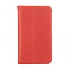 Чехол книжка кожаный WRX Premium для LG G Pad 8.3 V500 красный