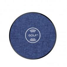 Беспроводное зарядное устройство Golf GF-WQ4 Blue