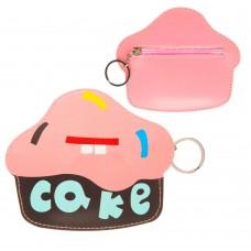 Чехол сумка кожаный SK для наушников Cake