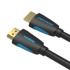 Кабель HDMI-HDMI v.2.0 Vention 4K 60Hz 18Gbps gold-plated 1m Black (VAA-M02-B100)