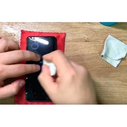 Как правильно наклеить защитную пленку и стекло на телефон